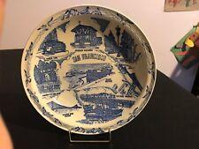 "Vernon Kilns San Francisco Cliff House Seal Rocks Decorative Plate - Mint 10.5"""