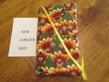 NEW Longer - Eat Chicken not Turkey Print Handmade Quilted Paperback Book Cover
