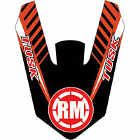 Attack Graphics Turbine Front Fender Decal Red