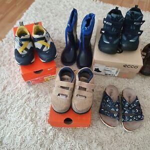 Schuhe Jungen 8 Paar Nike, adidas...Gr. 24 bis 25