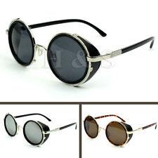 Men's Round Metal & Plastic Anti-Reflective Sunglasses
