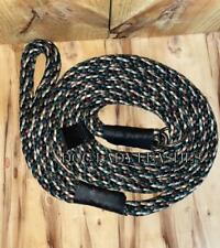 """SLIP LEAD/LEASH W/GUIDE-5/8""""x6'-ROPE-L/XL DOGS-UP TO 250 LBS CAMO  (430)"""