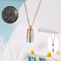 Wedding Memory Chain Projection Pendant Capsule I Love You 100 Languages