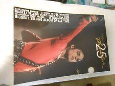 MICHAEL JACKSON THRILLER 25TH  YEAR POSTER,ROCK N POP SUPPERSTAR BILLY JEAN