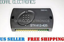 STK412-420 Sanyo Original & heat sink comp. Free Ship  Integrated Circuit IC OEM