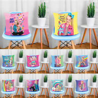 Home Decor Cute Girl JoJo Siwa Pillow Case Sofa Car Bed Pillowcase Cushion Cover