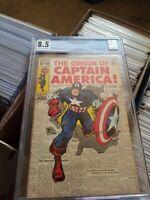 Captian America 109 Cgc Key Comic