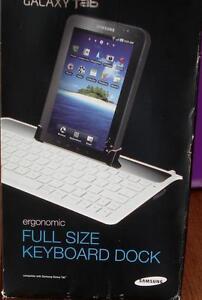 Samsung Galaxy Tab Ergonomic Full Size Keyboard Dock - BRAND NEW IN BOX