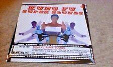 Kung Fu Super Sonidos de Wolfe Biblioteca Lp Shaw Bros OST pesado Funk abre nuevos