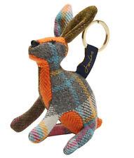 Joules Tweedle Aw16 Novelty Tweed Hare Keyring