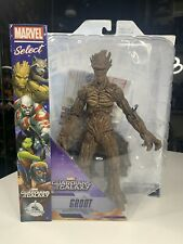 Marvel Select 7 Inch Action Figure Guardians Of The Galaxy - Groot Exclusive HTF