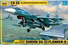 ZVEZDA 7297 1/72 Russian Naval Fighter Sukhoi Su-33 Flanker-D