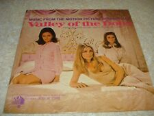 "Vintage Vinyl Record 12"" Lp Valley Of The Dolls Motion Picture Soundtrack Nm"