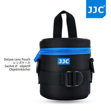 JJC 75x115mm Deluxe Lens Pouch Case Bag with Shoulder Strap for Canon Nikon Lens
