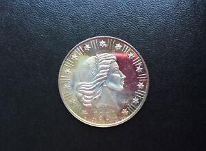 1981 World Wide Mint American Eagle Silver Art Medal D9165