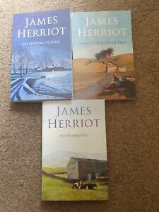 James Herriot Books x3