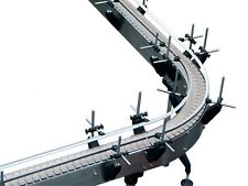 NEW STAINLESS STEEL U SHAPE CONVEYOR-MADE IN THE USA-1 YEAR WARRANTY ON PARTS