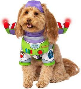 Buzz Lightyear Dog Costume - XL - Toy Story Shirt, Headpiece, Wings - Rubies NWT