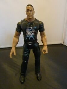 WWE THE ROCK  Wrestling Action Figure TITAN TRON Live WWF JAKKS PACIFIC