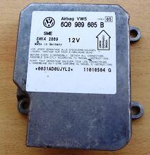 Airbagsteuergerät Airbag VW Passat 3B 3BG (B5) 6Q0909605B 6Q0909605 B
