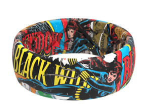 Groove Life BLACK WIDOW CLASSIC COMIC RING Size 12 Silicone NEW