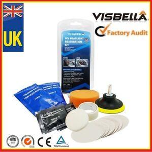 Headlight Restoration Kit Polishing Sealer