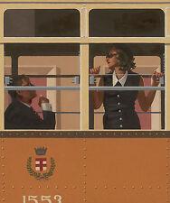 Jack Vettriano The Look of Love Train Fantasy Novelty Print Poster 19.5x27.5