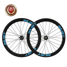 IMUST Carbon Wheelset 50mm Clincher Tubeless Ready Disc Brake Cyclocross Wheels
