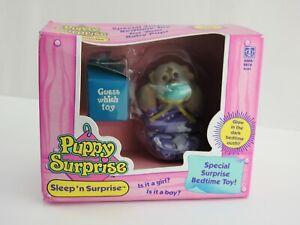 Vintage 1992 Puppy Surprise Doll New in Box Sleep 'n Surprise Glow in Dark NIP