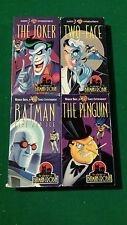 Batman TAS VHS Lot JOKER PENGUIN TWO FACE MR. FREEZE