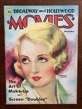 Constance Bennett Movies Magazine November 1931 Ronald Colman