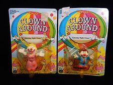 Mego 1981 Clown Around Figures~ President Ronald Reaclown #C3 & Divine Miss #C15