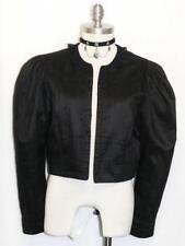 HELLER / BLACK ~ SILK & LACE Women AUSTRIA Dress Sport Riding Suit JACKET 10 M