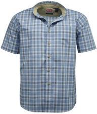 Camisas casuales de hombre de algodón y poliéster talla L