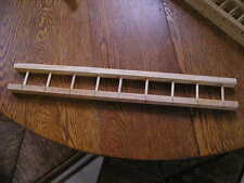 "A PAIR OF ALL WOOD LADDERS 2 1/2"" WIDE X 18"" LONG FOR PEDAL FIRE TOY TRUCKS"
