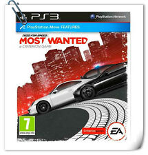 PS3 Move NEED FOR SPEED MOST WANTED A CRITERION GAME PlayStation Racing EA