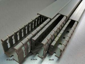 Verdrahtungskanal mit Deckel - 1m* - Installationskanal Kabelkanal nach Wahl