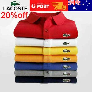 Men's Vintage Lacoste L1212 Short Sleeve Polo Slim Fit T-Shirt
