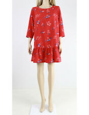 Jack Wills Mini Cocktail Party Floral 3/4 Sleeve Evening Casual Dress UK 12 40
