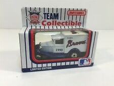 1990 Atlanta Braves Baseball Limited Edition Box Truck Matchbox NIB MLB-90-15