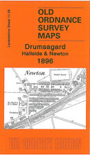 OLD ORDNANCE SURVEY MAP DRUMSAGARD, HALLSIDE & NEWTON 1896