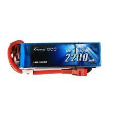 Gens Ace 2200mAh 3S 11.1V 45C 90C Lipo Battery Pack Deans Plug Plane Heli EFlite