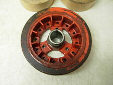 """REAL GM 1966 CORVETTE & CHEVY 327 8"""" INCH FINNED HARMONIC BALANCER L79 DATED J65"""