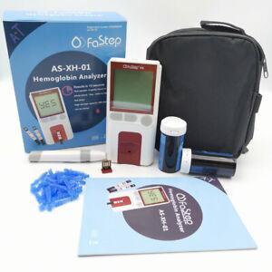 Hb Hemoglobin Meter Hemoglobin Analyzer Test Meter Anemia Monitor Meter + Strips