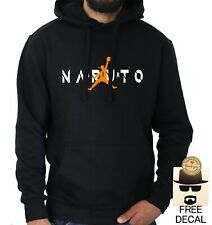 Naruto Air Parody Hoodie Funny Anime Gift Basketball Pullover Jumper Unisex NEW
