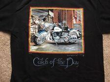 Harley Davidson Limited Edition Long Sleeve Black henley Shirt NWT  Men's Medium