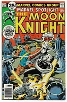 MARVEL SPOTLIGHT#29 VF/NM 1976 DOUBLE COVER MOON KNIGHT BRONZE AGE COMICS