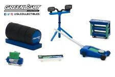 1:64 GreenLight *HOBBY EXCLUSIVE* FALKEN TIRE THEMED 6pc TOOL ACCESSORY PACK NIP