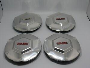 2002 2003 2004 2005 06-2007 GMC ENVOY ENVOY XL OEM set of 4  WHEEL CENTER CAPS