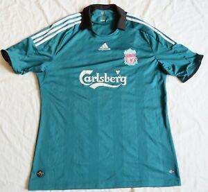 LIVERPOOL FC  Adidas Third Shirt 2008/09 (XL)